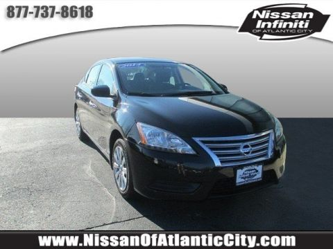 Certified Pre-Owned 2014 Nissan Sentra SV FWD 4dr Car