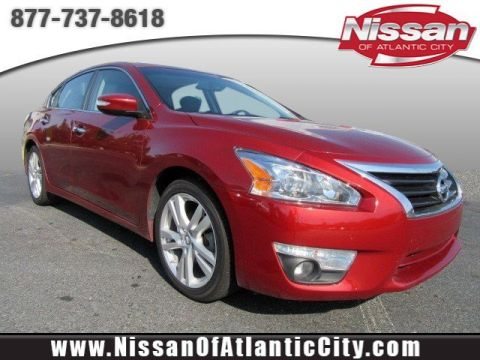 Pre-Owned 2015 Nissan Altima 3.5 SL With Navigation