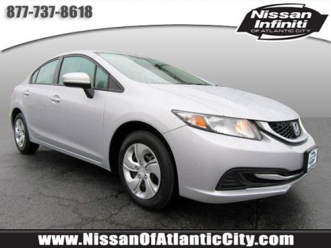 Pre-Owned 2014 Honda Civic Sedan LX FWD 4dr Car