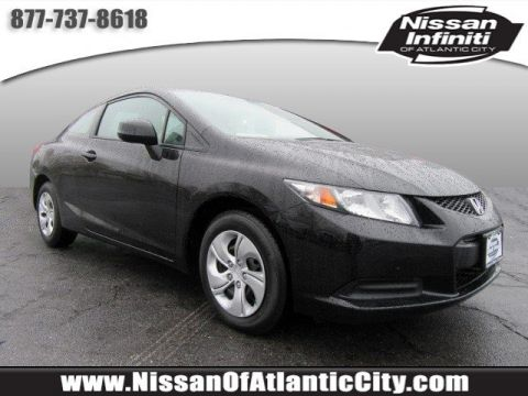 Pre-Owned 2013 Honda Civic Cpe LX FWD 2dr Car