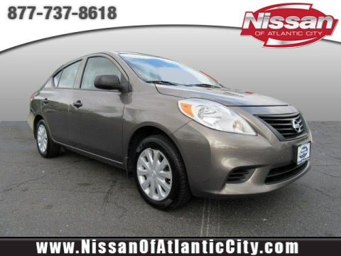 Pre-Owned 2014 Nissan Versa S Plus FWD 4dr Car