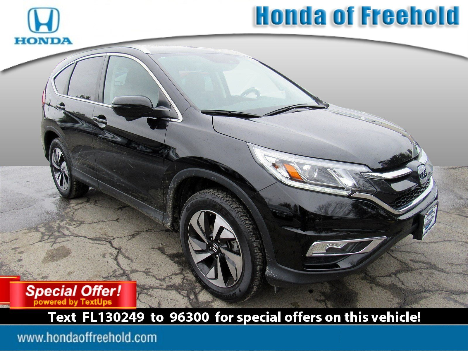 Pre Owned 2015 Honda CR V Touring Sport Utility in Egg Harbor